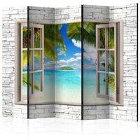 Parawan do mieszkania 5-częściowy - Wyspa marzeń II 225 szer. 172 wys.