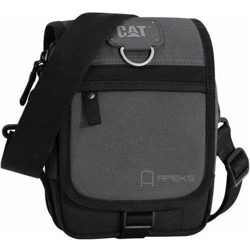 623d6864368ce ronald torba na ramię   saszetka cat   czarno - szara - black   anthracite  marki