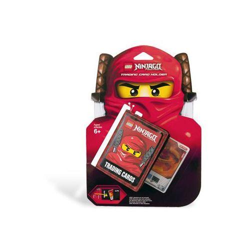 853114 - wizytownik na karty ninjago wraz z trójwymiarową kartą ninja kai - ninjago marki Lego