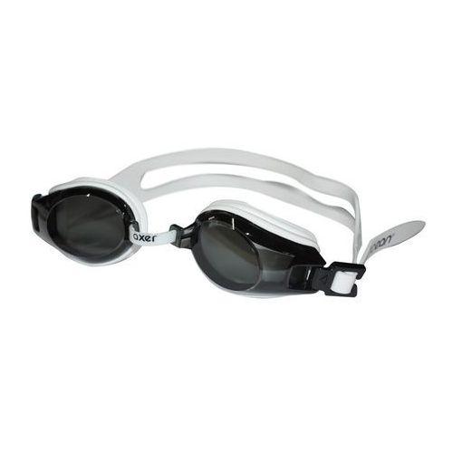 Axer ocean Okularki pływackie dla dorosłych sens - biel
