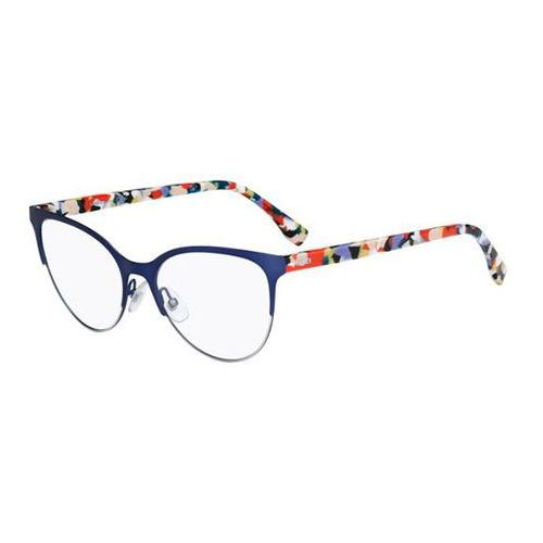 Fendi Okulary korekcyjne ff 0174 chromia twj