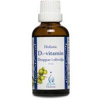 Krople Witamina D3 w kroplach z naturalną witaminą E dla dzieci Holistic 50ml
