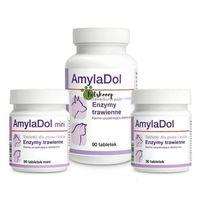 Dolfos amyladol - enzymy trawienne dla psów i kotów 90tab. (5906764765252)