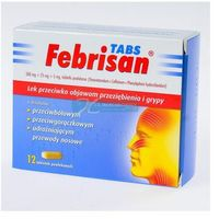 Tabletki Febrisan 12 tabletek