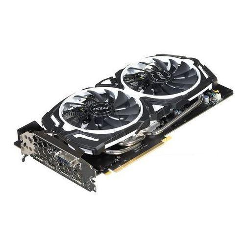 Karta graficzna MSI GeForce GTX 1070 ARMOR OC 8GB GDDR5 (256 Bit) 3x DP, HDMI, DVI-D, BOX Darmowy odbiór w 19 miastach