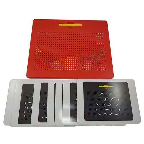 Toypex Tablica magnetyczna magpad mini [czerwona] (6937085000387)