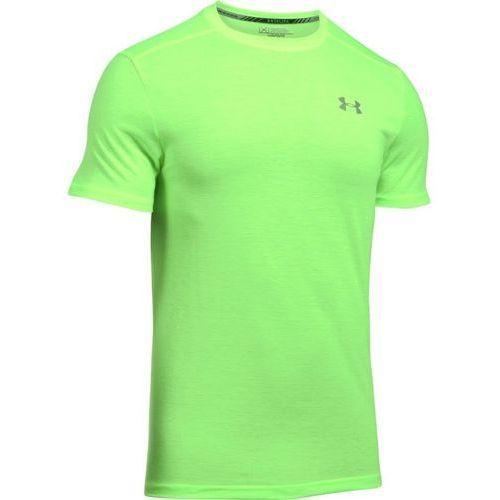Under armour koszulka ua streaker shortsleeve t zielona - jasnozielony   zielony