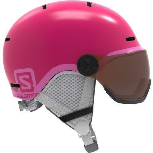 Salomon grom visor glossy pink km 53-56