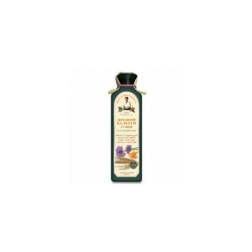 RECEPTURA BABCI AGAFII balsam do włosów ziołowy gęsty na bazie 17 syberyjskich ziół, 350 ml, BABBA030
