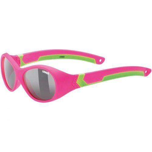 UVEX okulary dziecięce Sportstyle 510 (S3) pink green mat (zielono różowy mat) - z szybą smoke