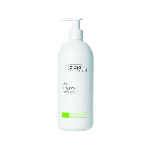 Ziaja Pro Cleansers Acne Skin oczyszczający żel antybakteryjny do profesjonalnego użytku 500 ml - Super rabat