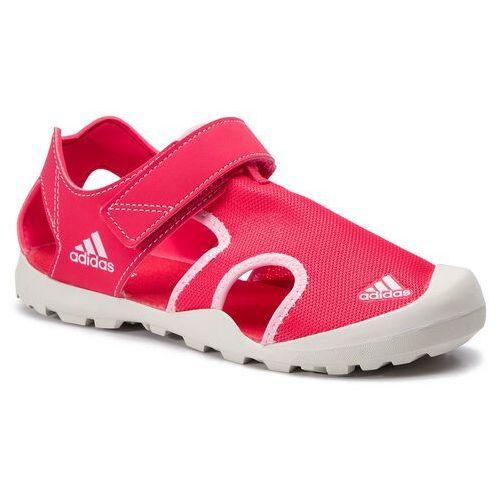 Sandały adidas - Captain Toey K BC0702 Actpnk/Trupnk/Rawwht, kolor czerwony