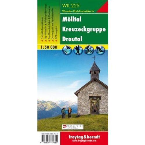 Freytag & Berndt Wander-, Rad- und Freizeitkarte Mölltal, Kreuzeckgruppe, Drautal (9783850847360)