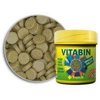 Tropical vitabin roślinny pokarm dla ryb samoprzylepne tabletki 50ml/36g