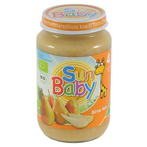 Deser gruszka BIO 190g BabySun od 4 miesiąca