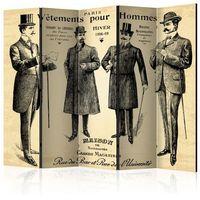 Parawan do mieszkania 5-częściowy - Vêtements pour Homme II 225 szer. 172 wys.