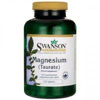 Swanson Taurynian Magnezu (Magnesium Taurate) 100mg - (120 tab)