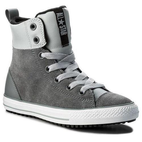 Trzewiki CONVERSE - Ctas Asphalt Boot Hi 658070C Cool Grey/Wolf Grey/Black, kolor szary
