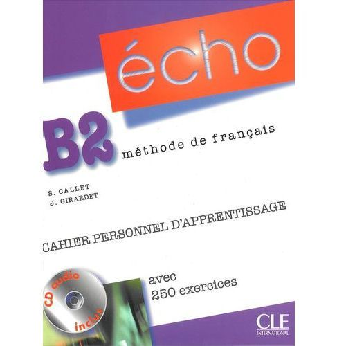 Echo franc. B2 ćwiczenia +CD (2010)