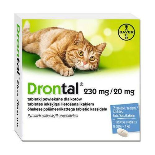 drontal plus flavour tabletki na odrobaczenie dla kotów marki Bayer