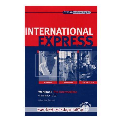 International Express Pre-Inter WB Pack OXFORD, Liz Taylor, Adrian Wallwork