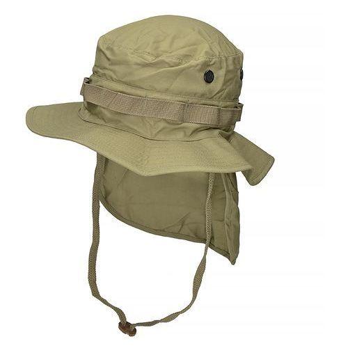 Teesar kapelusz brytyjski z osłoną na kark rip-stop coyote, Mil-tec