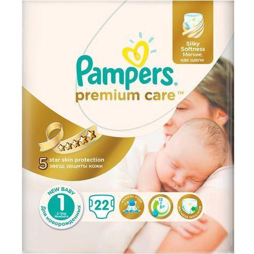 Premium care 1 new baby pieluchy 22szt pieluszki Pampers
