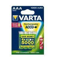 4 x akumulatorki Varta Ready2use R03 AAA Ni-MH 1000mAh