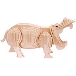 Łamigłówka drewniana gepetto - hipopotam (hippopotamus) marki Eureka