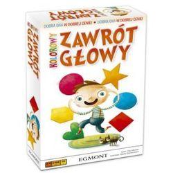 Kolorowy zawrót głowy. gra planszowa marki Egmont