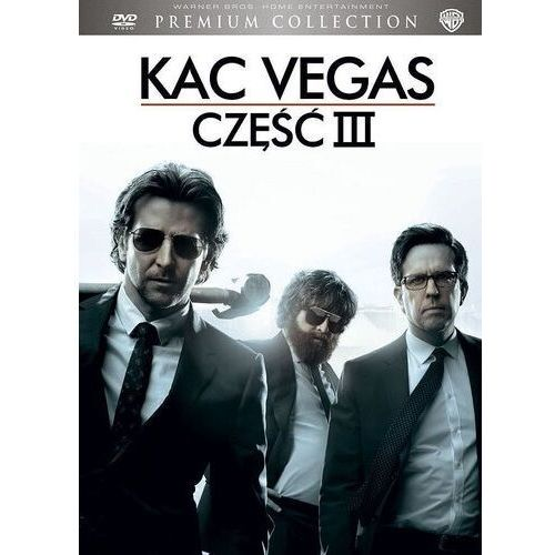 Todd phillips Kac vegas iii (dvd) premium collection (płyta dvd) (7321908326577)