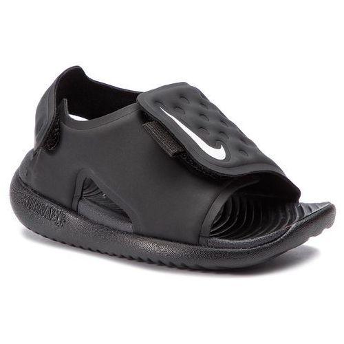 Sandały - sunray adjust 5 (td) aj9077 001 black/white marki Nike