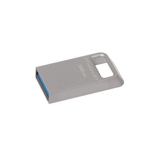 Pamięć KINGSTON DataTraveler Micro 3.1 32 GB (DTMC3/32GB) (0740617242829)