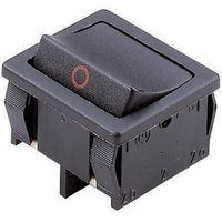 Przełącznik kołyskowy Marquardt 1802.1108, 250 V/AC, 6 A, 2 x Wył/Wł, IP40, zatrzask, 1 szt.