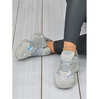 Popielate sportowe buty Lena