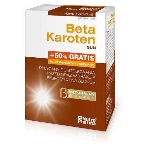 Kapsułki Beta Karoten Sun x 90 kapsułek