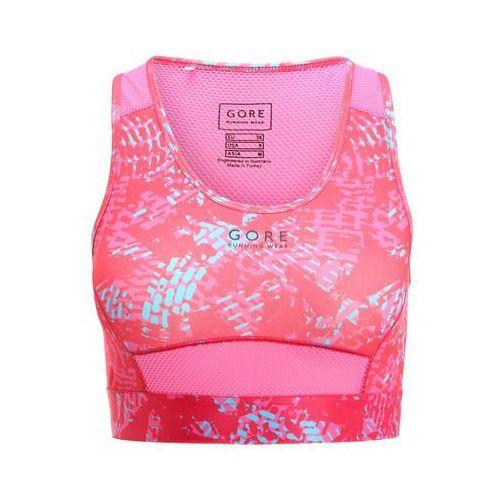 Gore Running Wear ESSENTIAL Biustonosz sportowy jazzy pink/raspberry rose