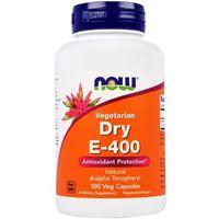Witmaina NOW Foods Dry Vitamin E-400 100 vkaps Najlepszy produkt