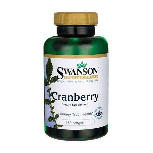 Kapsułki Swanson Żurawina (Cranberry) 800mg 180 kaps