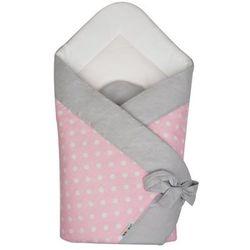 a1293 różowy rożek becik niemowlęcy marki Akuku