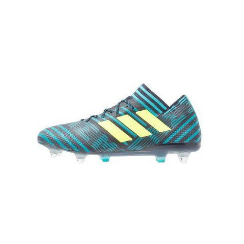 Adidas Performance NEMEZIZ 17.1 SG Korki wkręty legion ink/scuba yellow/energy blue