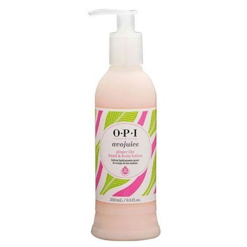 Avojuice ginger lily hand & body lotion balsam do dłoni i ciała - tropikalna lilia (250 ml) Opi