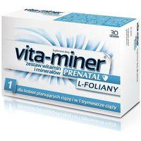 Vita-miner Prenatal L-foliany x 30 tabletek
