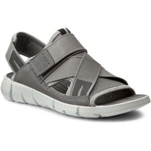 Sandały ECCO - Intrinsic Sandal 84200355915 Wild Dove/Wild Dove, kolor szary