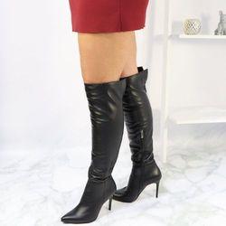 Kozaki damskie  TYMOTEO Tymoteo - sklep obuwniczy