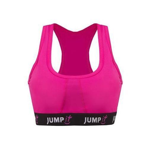 - stanik sportowy różowy - s marki Jumpit