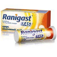 Tabletki RANIGAST FAST 150mg x 10 tabletek musujących