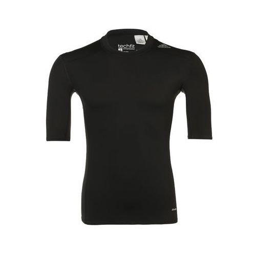 Adidas Performance TECHFIT Podkoszulki black, BCI84
