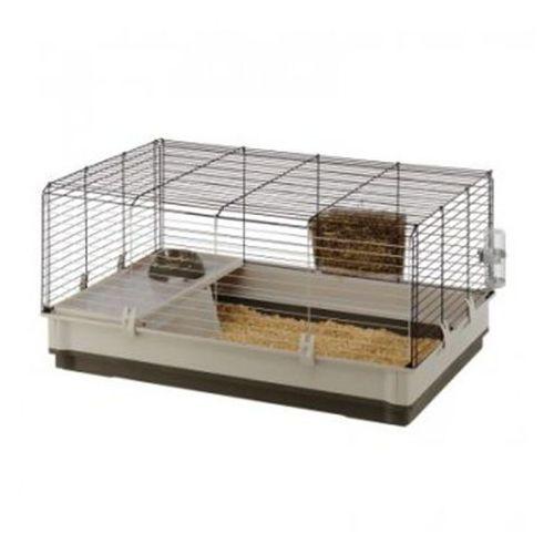królik l - klatka dla królika 100 x 60 x 50 cm marki Ferplast