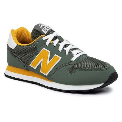 New balance Sneakersy - gm500tru zielony